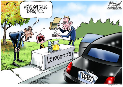 Harry And Barack Find Lemonade Stands Can Help Debt Ceiling