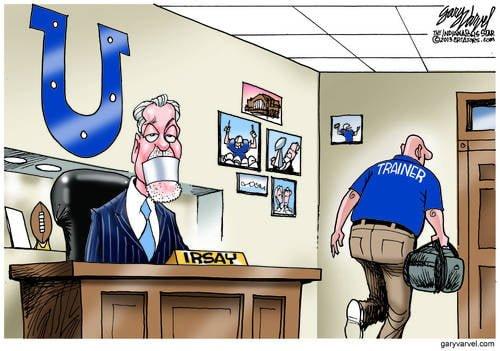 Colts Owner Jim Irsay Shut Down After Cheap Shot At Peyton Manning