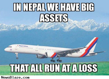 nepal asset losses