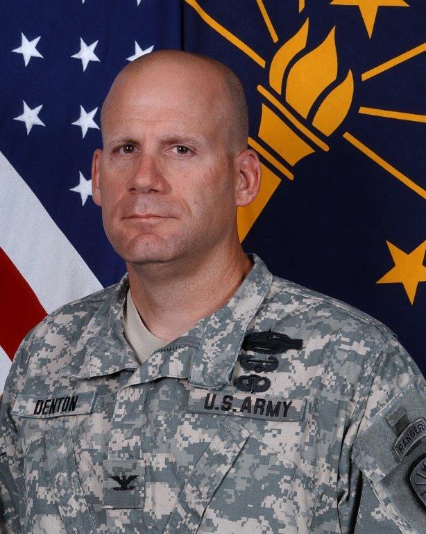 Colonel Ivan Denton, promoted to Brigadier General.