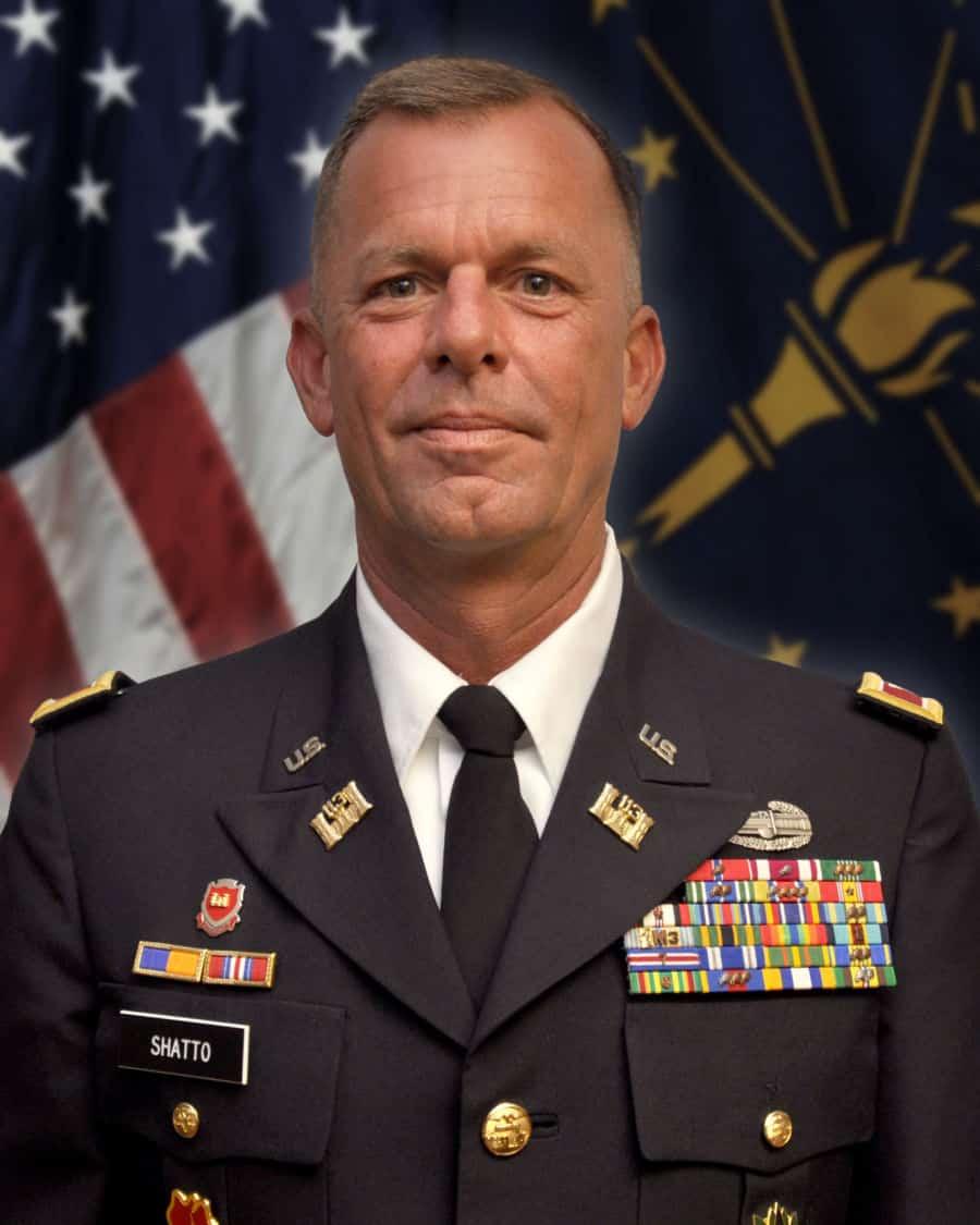 Colonel Rick Shatto.