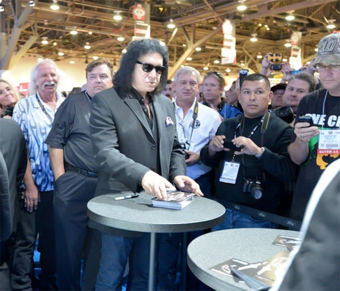 gene simmons at sema