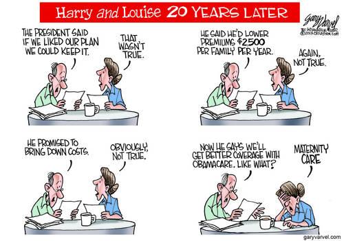 Editorial Cartoons by Gary Varvel - gv2013131103dAPC - 03 November 2013