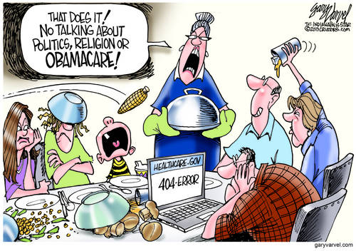 Editorial Cartoons by Gary Varvel - gv2013131127dAPC - 27 November 2013