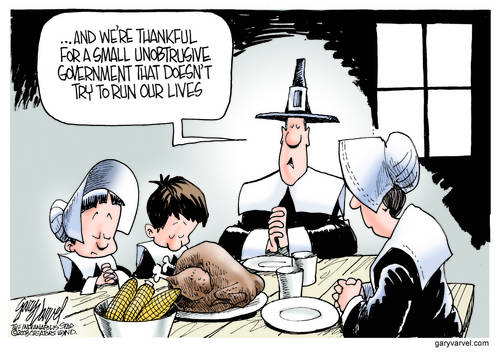 Today, Imagine Some Things The Pilgrims Were Thankful For