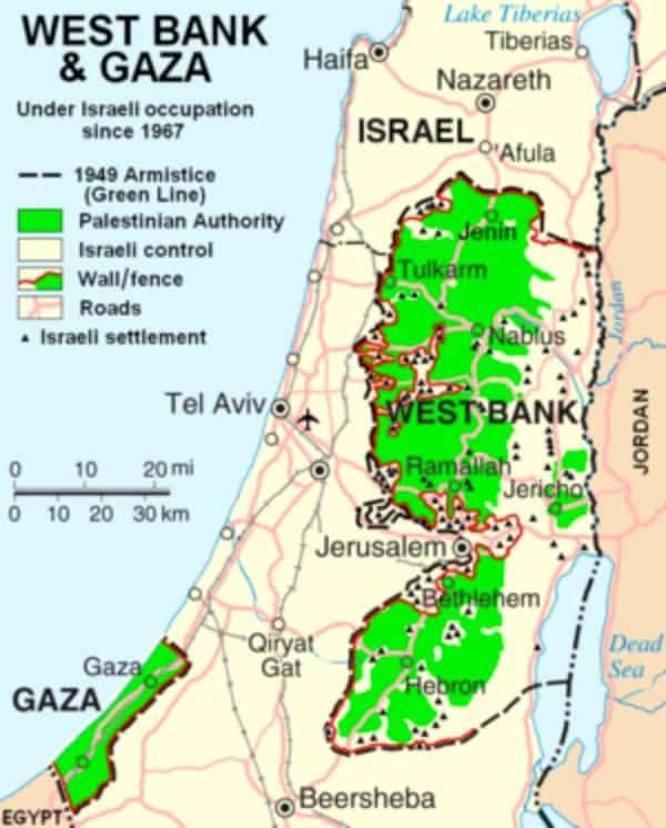 israel west bank gaza