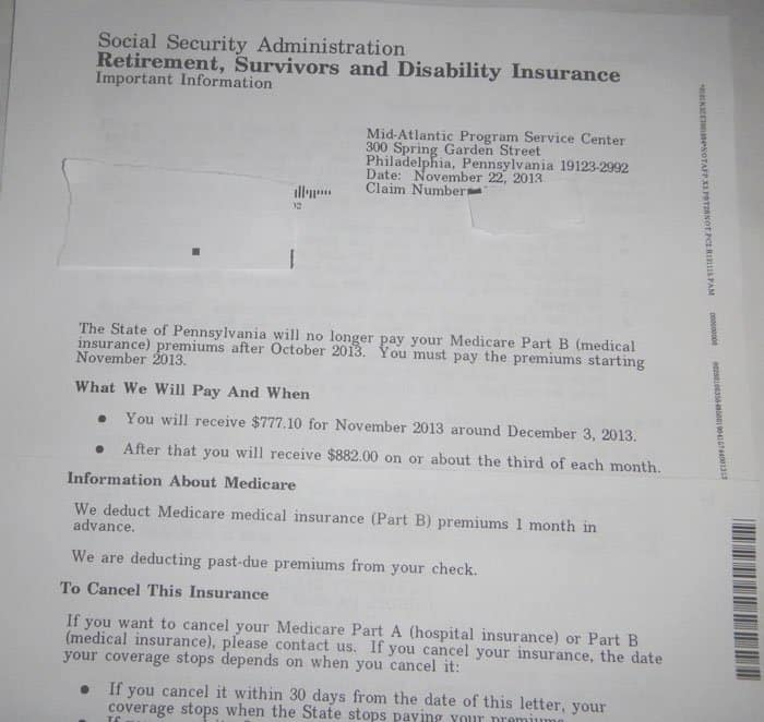 social security benefit letter 2013 seniors lose 10 of ss benefits in non obamacare states 13596