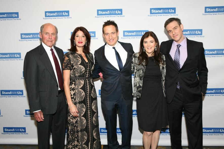 From R Bret Stephens Roz Rothstein Elon Gold Esther Rezner Honoree Myron Zimmerman Jonah Light Photography