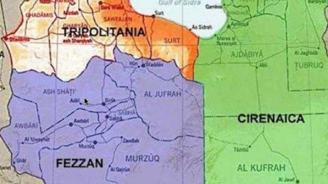 Libya three regions