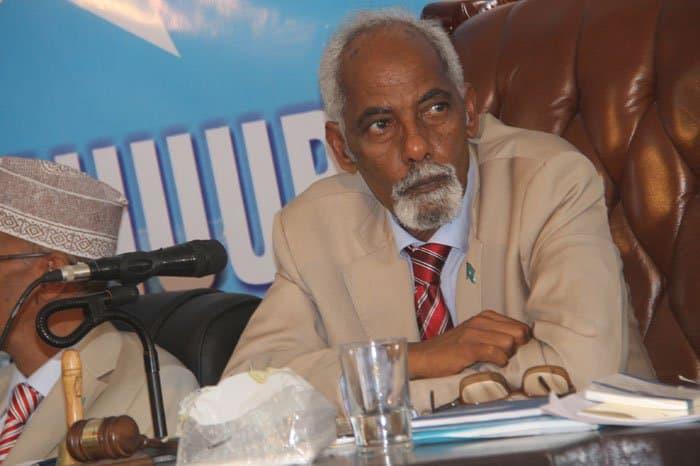 Somali Parliament Speaker Mohamed Sheik Osman Jawari