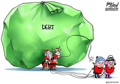 Editorial Cartoons by Gary Varvel - gv2013131215dAPC - 15 December 2013
