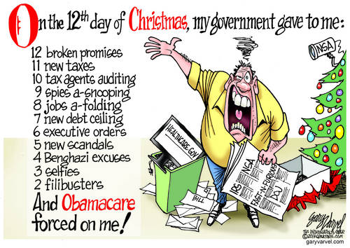 The Twelve Days Of Christmas Gets New Words, Thanks To Political Inspiration
