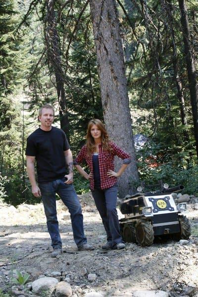 Patrick Doyle and Kristen Luman