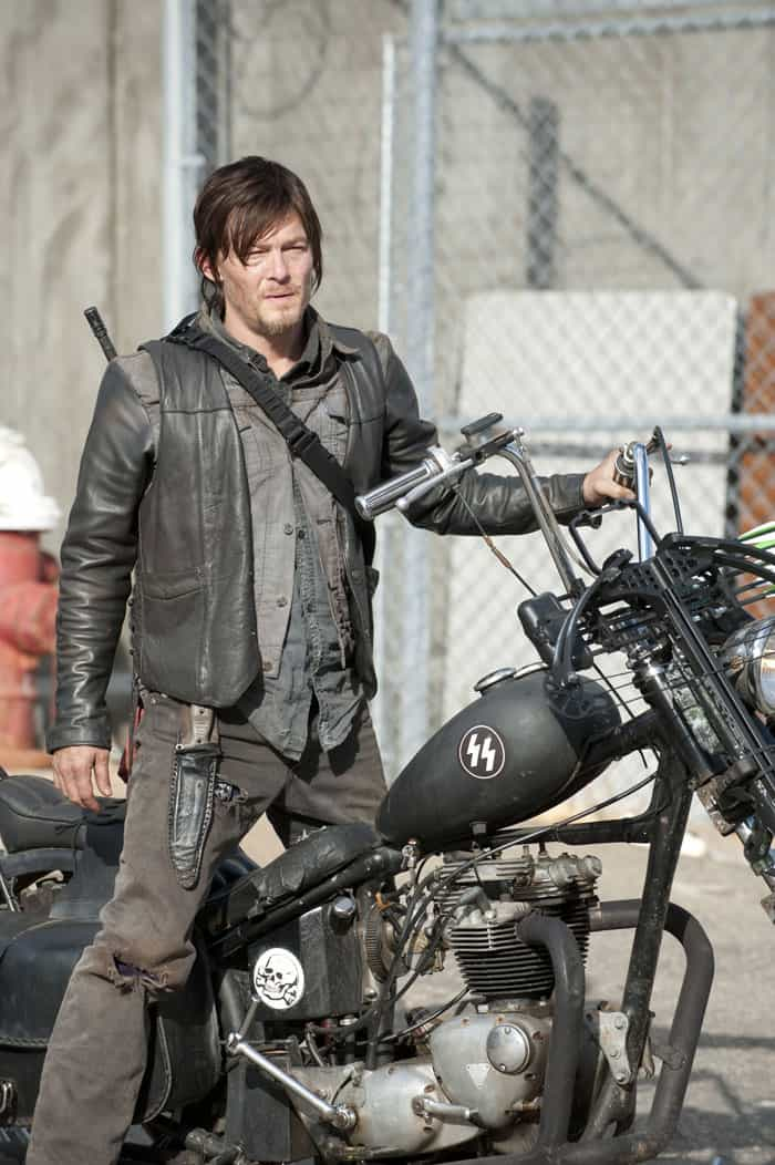Daryl motorcycle