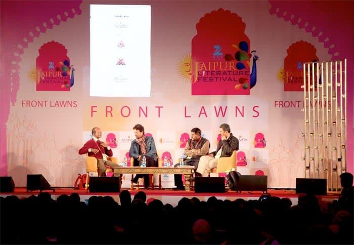 Irrfan Khan Neerav Patel Jaipur Literature Festival