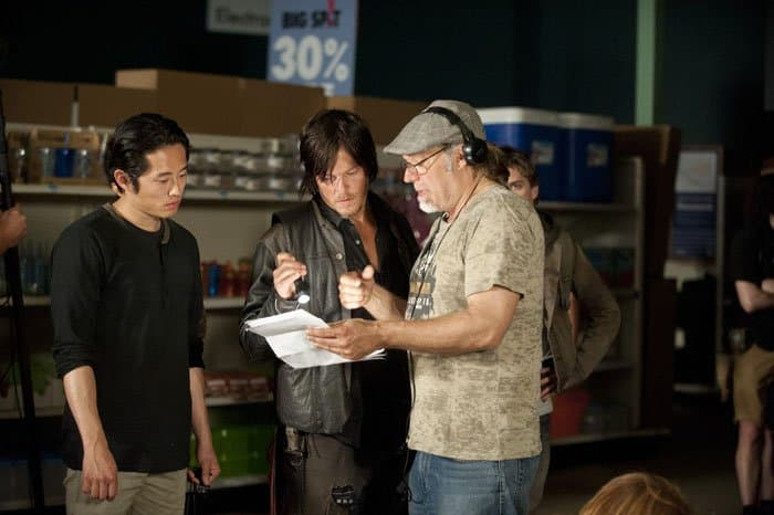 Norman Reedus Director Greg Nicotero