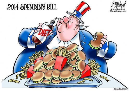 Uncle Sam Is On A Diet At Last, But Somehow, It Seems Half-Hearted, Will It Work?