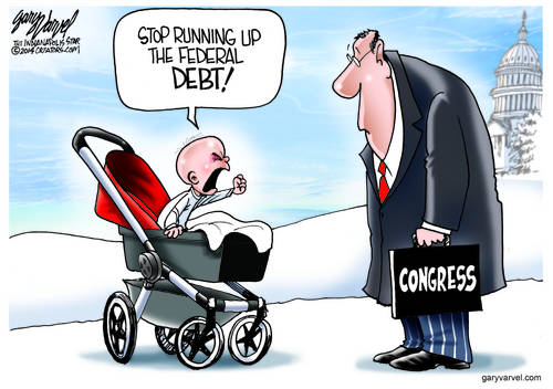 The Newest Generation Has A Message For Congress - Stop Running Up The Debt
