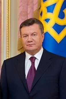 Viktor Yanukovych, the president of Ukraine since 2010.