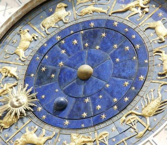 A zodiac clock