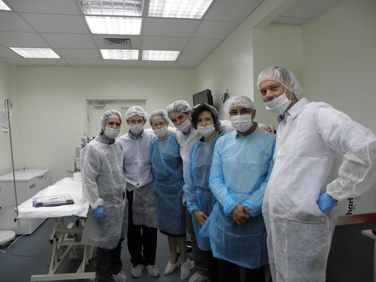 EyeYon medical team