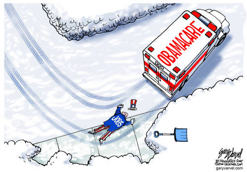 Uncle Sam And Jobs A Casualty Of The Obamacare Ambulance