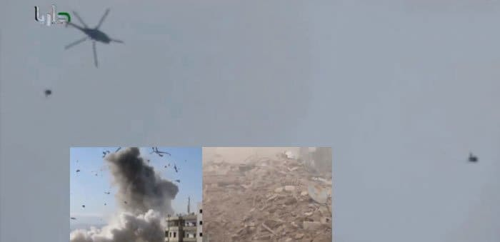 syrian barrel bombs