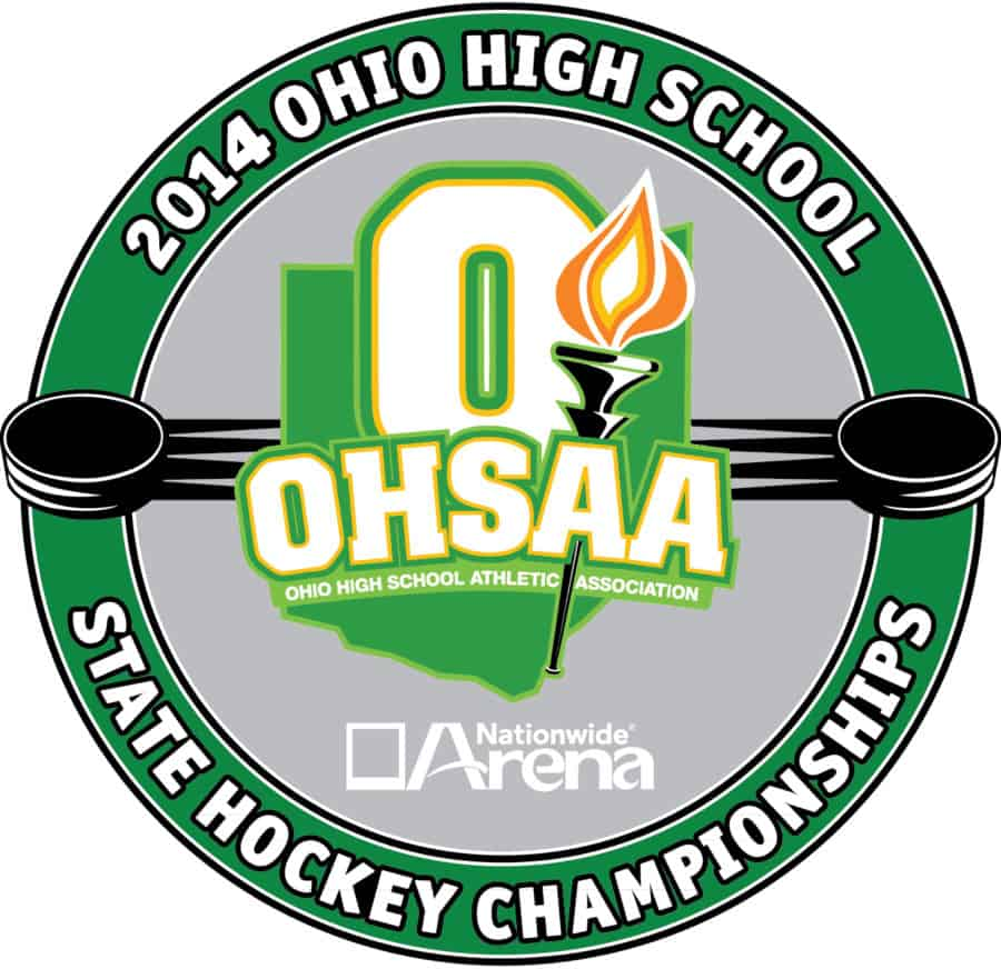 2014 OHSAA Ice Hockey Logo