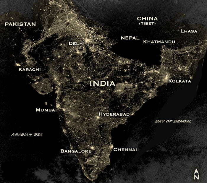 nepal blackout