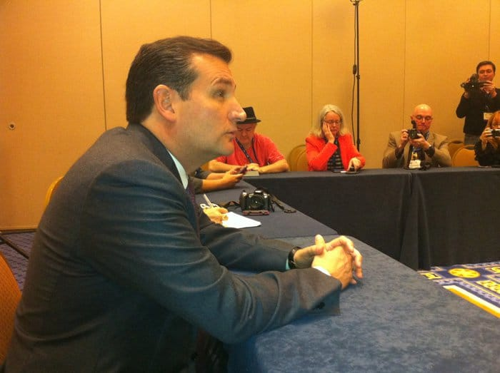 Ted Cruz at CPAC in Maryland