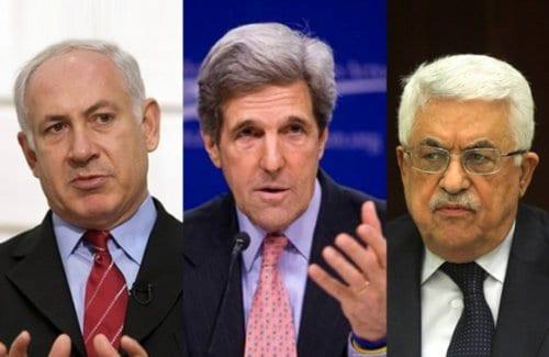 Abbas Netanyahu Kerry