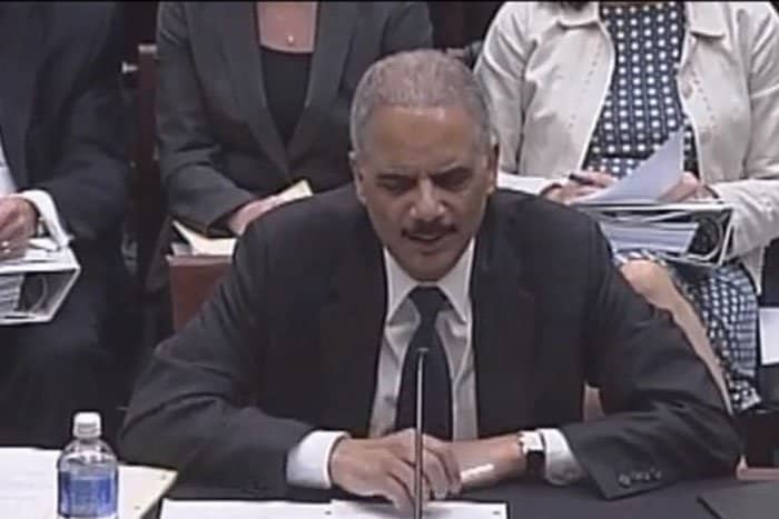eric holder asserts right to discretion