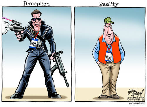 It Turns Out That NRA Members Are Not Terminators, They Are Like Everyone Else