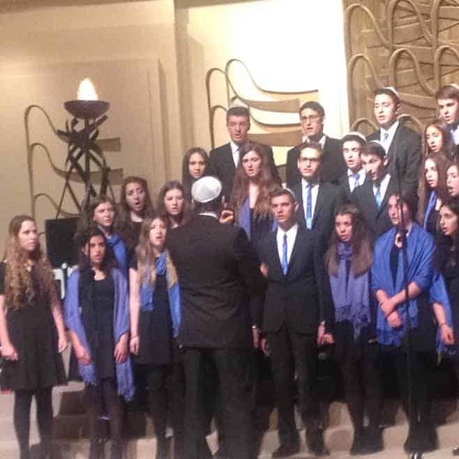 Milken school choir 2014