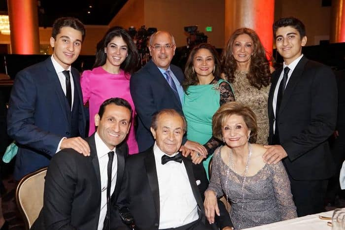 The philanthropic Nazarian Family, Photo Orly Halevy