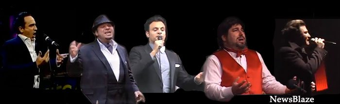 five italian tenors