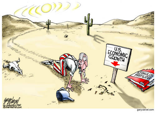 As The Stimulus Fertilizer Runs Out, Uncle Sam Finds The Location of Economic Growth