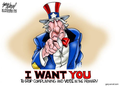 Uncle Sam Wants You To Stop Complaining About Him And Vote - For Him