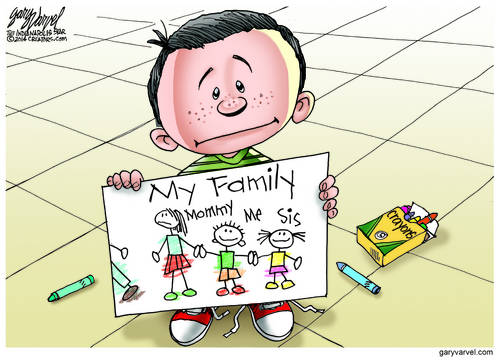Families Are Not What They Used To Be. Are Kids Getting Used To It?