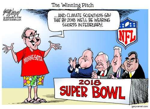 A Novel Pitch For The 2018 Superbowl, From Sunny Minnesota