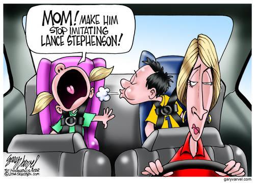 Lance Stephenson Starts A New Craze For Kids, Thanks, Pal