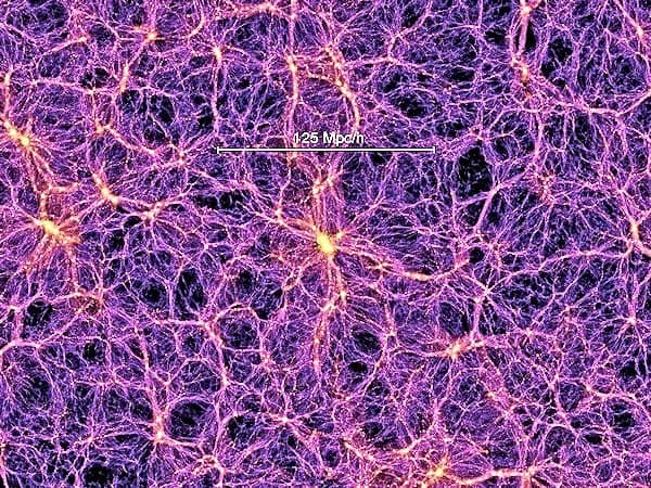 Dark matter filaments detected for the first time