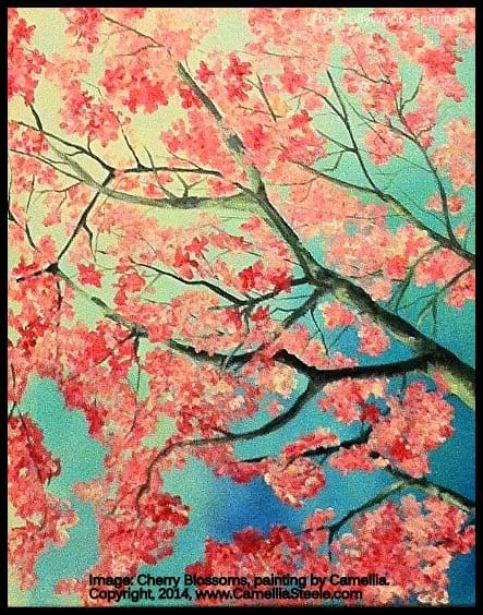 camellia cherryblossoms