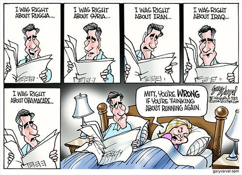 Mitt: I Was Right, I Was Right, I Was Right, I Was Right. Anne: Dont Even Think About It