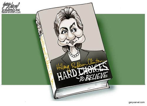 Hillary Clinton Publishes Her New Book, Titled Hard To Believe