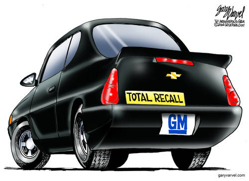 General Motors Launches Its Latest Model, The Total Recall, Sweet Ride!