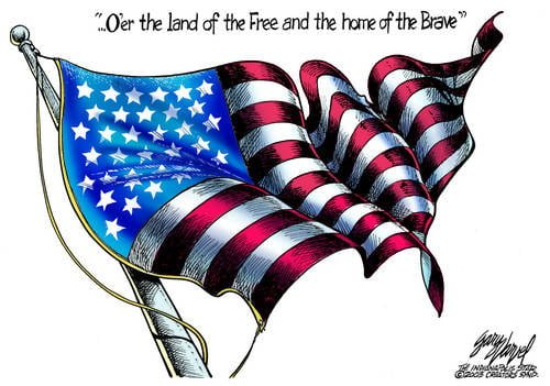 The Flag Still Flies Over The Land Of The Free And The Home Of The Brave