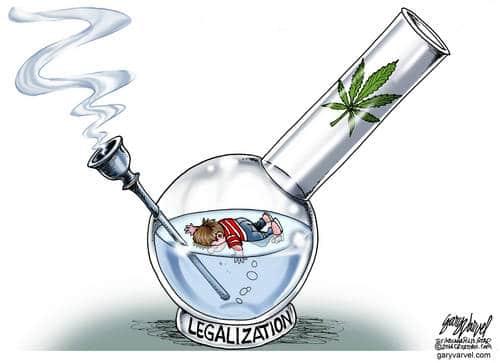 What A Good Idea, Drowning Kids In Legal Bongs. Marijuana Heaven.