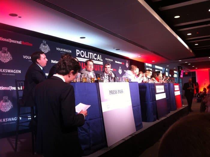 political pursuit panel