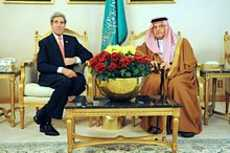 U.S. Secretary of State John Kerry with Saudi Foreign Minister Crown Prince Saud bin Faisal bin Abdulaziz Al Saud. State Department photo.